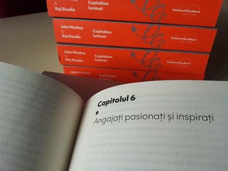 """Book trailers """"Capitalism luminat: Eliberarea spiritului eroic al afacerilor"""", de J. Mackey & R. Sisodia"""