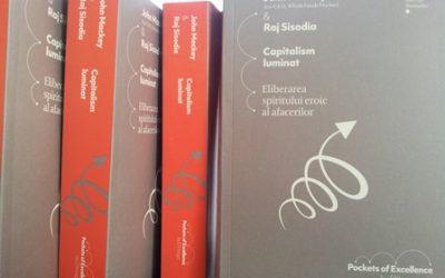"""D'Imago anunță apariția volumului """"Capitalism luminat"""", de John Mackey și Raj Sisodia"""