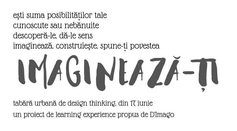 IMAGINEAZĂ-ȚI – tabără urbană de design thinking pentru copii